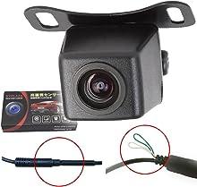 夜でも見える バックカメラ 防水 高画質 42万画素 CMD 広角レンズ A0119N 正像 鏡像 切り替え ガイドライン オン オフ 日本語マニュアル