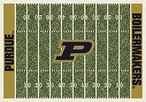NCAA Home Field Rug - Purdue Boilermakers, 7'8'' x 10'9'' by Millilken