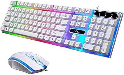 Juego de Mouse con Teclado mecánico, teclados Colgantes ...