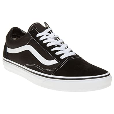Unisex Adults Old Skool Classic Suede/Canvas Sneakers Vans BWQdNmxT9
