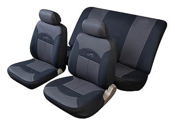 Cosmos 14002 Celcius - Juego de fundas para asientos de coche, color gris