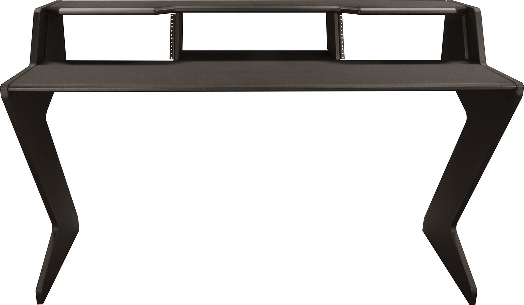 Ultimate Support Nucleus-Z Explorer Studio Desk with Shelf and two (2) - 4 space rack modules. Base Model