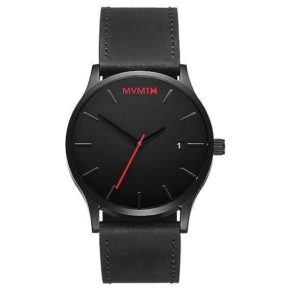 MVMT Reloj Analógico para Hombre de Cuarzo con Correa en Cuero D-L213.5L.551: Amazon.es: Relojes