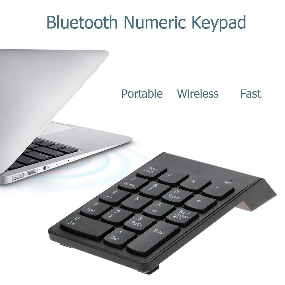 18/clave USB Teclado num/érico port/átil delgado Mini teclado num/érico para port/átil ordenador de sobremesa