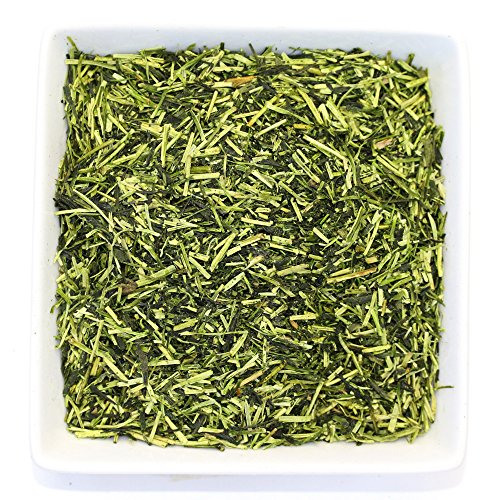 Japanese Kukicha Kabuse Green Loose Leaf Tea - Organic - Low Caffeine (7oz / 200g)