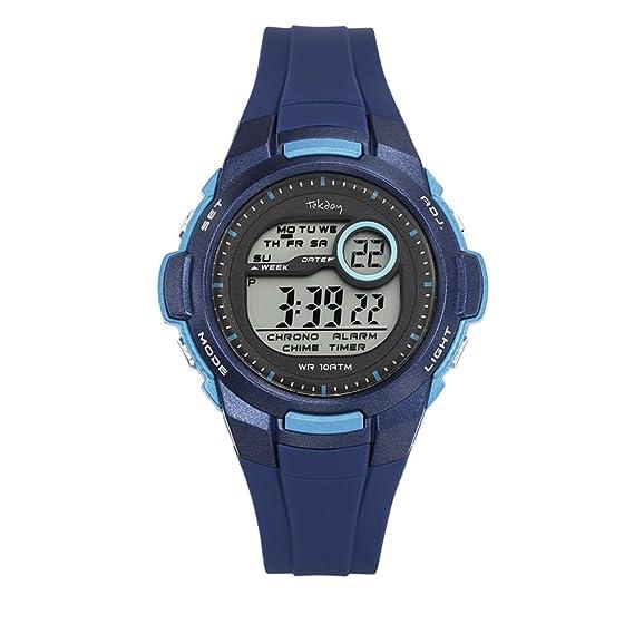 Tekday Reloj digital infantil jugenduhr Modelo 653966 Young Collection de: Amazon.es: Relojes