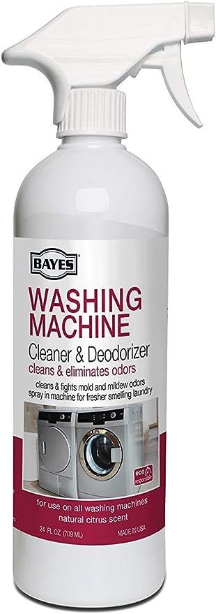 BAYES Limpiador y Desodorante para Lavadora, con paño de ...