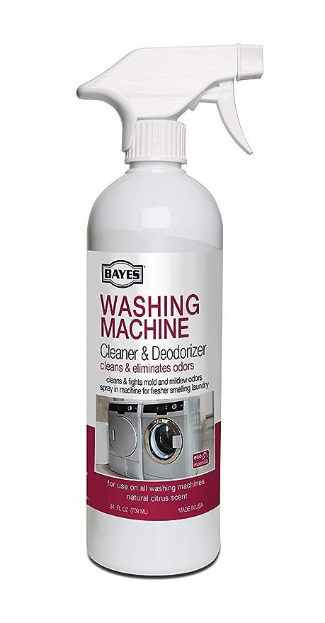 Amazon.com: Bayes - Limpiador y desodorizador para lavadora ...