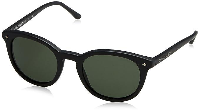 85b34124dac Amazon.com  Giorgio Armani AR8060 - 5042R5 Sunglasses Matte Black ...