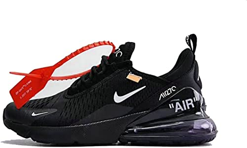 TOPMAXS Off White X Air Max 270 Black White Herren Damen