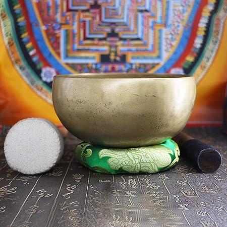 HAIHF Cuenco Tibetano,Cantar música Hecha a Mano nepalés ...