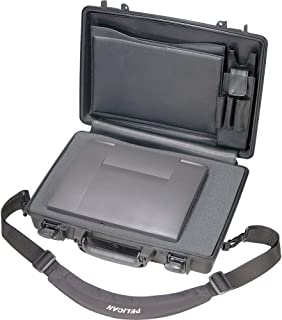 """product image for Pelican 1490 CC2 Black Laptop Case Deluxe with Foam 14"""" x 19.88"""" x 4.63"""""""