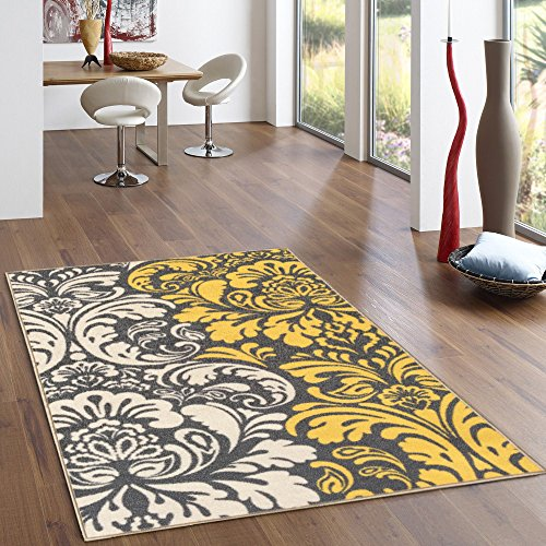 Top 5 Best Kitchen Rugs Yellow And Red For Sale 2017