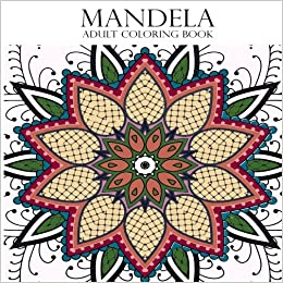 Amazon Mandela Adult Coloring Book 9781541038288 Amber Sky Books