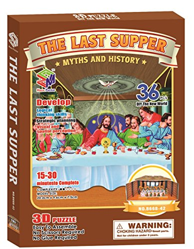 Magic Puzzle The Last Supper, 36 Pieces