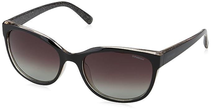 d13e698422 Image Unavailable. Image not available for. Colour  Polaroid Polarized  Rectangular Women s Sunglasses ...