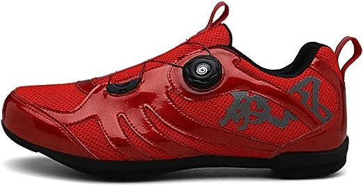 Shoes Zapatillas de Bicicleta de montaña, Hebilla giratoria ...