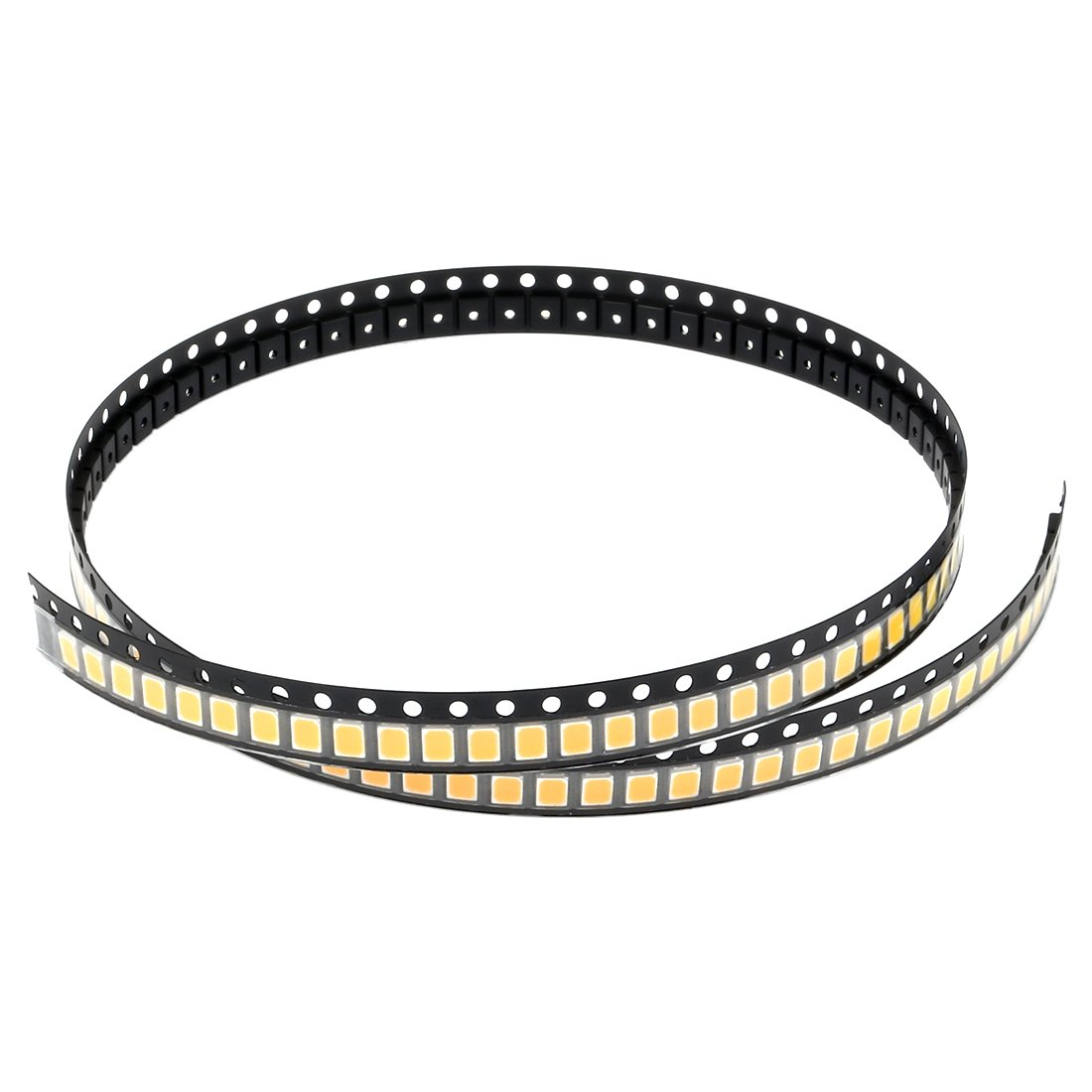 uxcell 100pcs 2835 3000K Warm White SMD LED Diode Lights(Mount Chip DC 3-3.4V 60mA) Super Bright Electronics Components Light Emitting Diodes a17051500ux0011