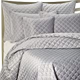 Barbara Barry Crescent Moon Quilt Queen Pillow Sham in Lagoon by Barbara Barry