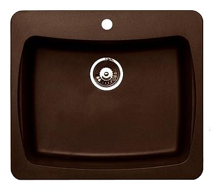 Pegasus al10mc 25 inch by 22 inch granite single bowl kitchen sink pegasus al10mc 25 inch by 22 inch granite single bowl kitchen sink metallic workwithnaturefo
