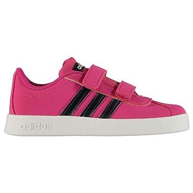 separation shoes 095bb 7bb6f adidas Unisex-Kinder VL Court 2.0 CMF Fitnessschuhe Mehrfarbig  (MagreaTinleyFtwbla