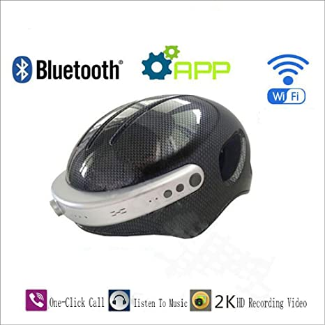 GWJ C5 Smart Sports Cámara Bluetooth Casco, Bicicleta Moto Deporte ...