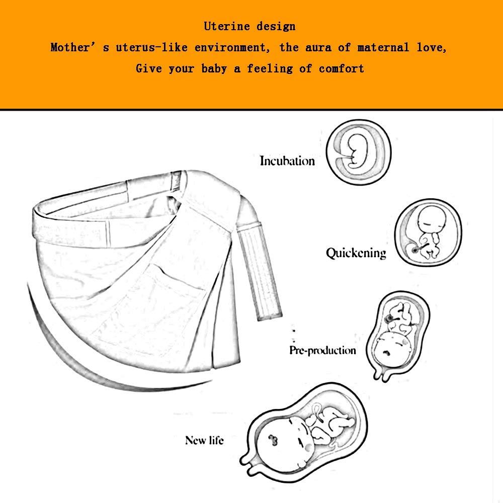 YUMEIGE Portabebés Portabebés, diseño de útero, portabebé Mochilas ...