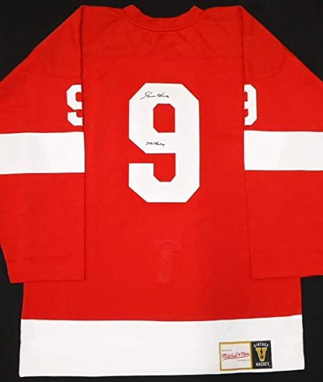 41d564c99f4 Image Unavailable. Image not available for. Color: Gordie Howe Signed Jersey  - Mitchell & Ness - Autographed NHL Jerseys