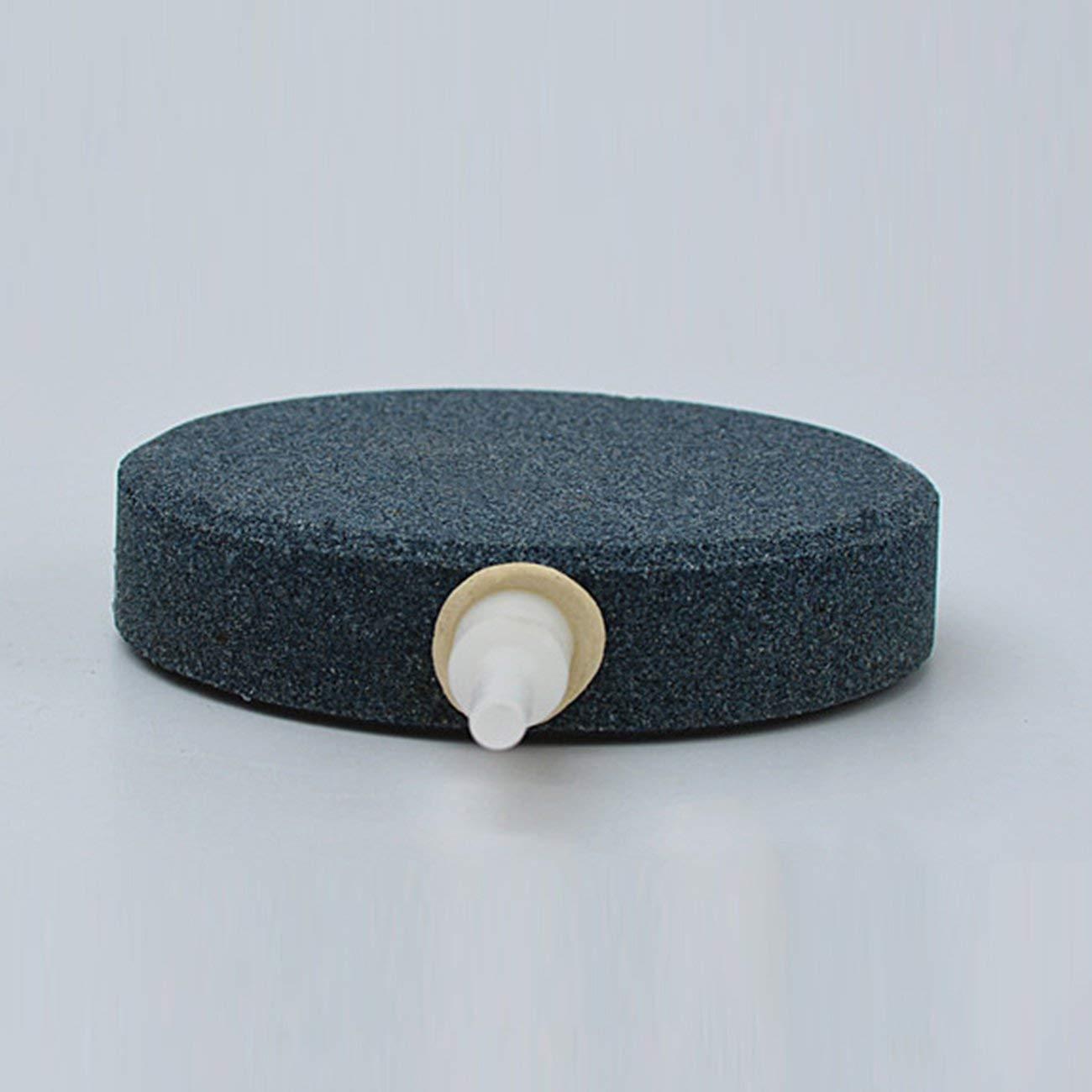 Fannty Burbuja de Piedra de Aire para Acuario Peces hidropónicos Bomba Difusor de cerámica Piedras aéreas