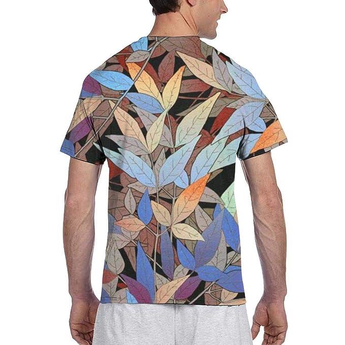 CarolJenkins 3D Floral Pattern Background Men Short Sleeve tee ...