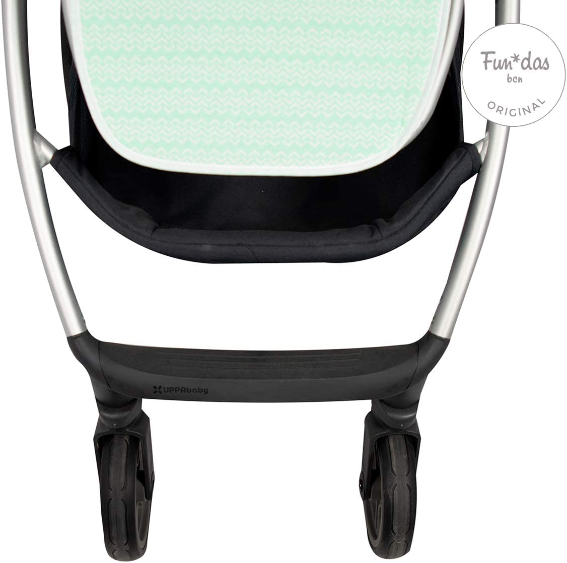 Ice Cream F128 Fundas BCN /® Cushion Seat Liner for Uppababy Vista /® and Uppababy Cruz /® Pushchair//Stroller