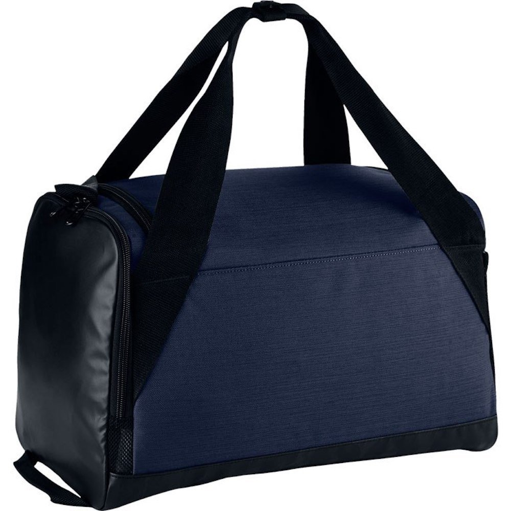 Nike Brasilia (Extra-Small) Duffel Bag NKBA5432 (Midnight Navy/Black/White)