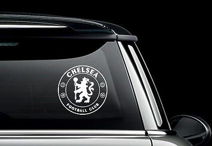 baa7496a02017 Maple Enterprise Chelsea Football Club Logo Vinyl Decal Sticker White