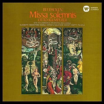 Beethoven:Missa Solemnis - Otto Klemperer: Amazon.de: Musik