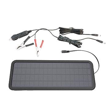 PROKTH Panel Solar de batería, 18 V 10 W – panel solar portátil recargable con