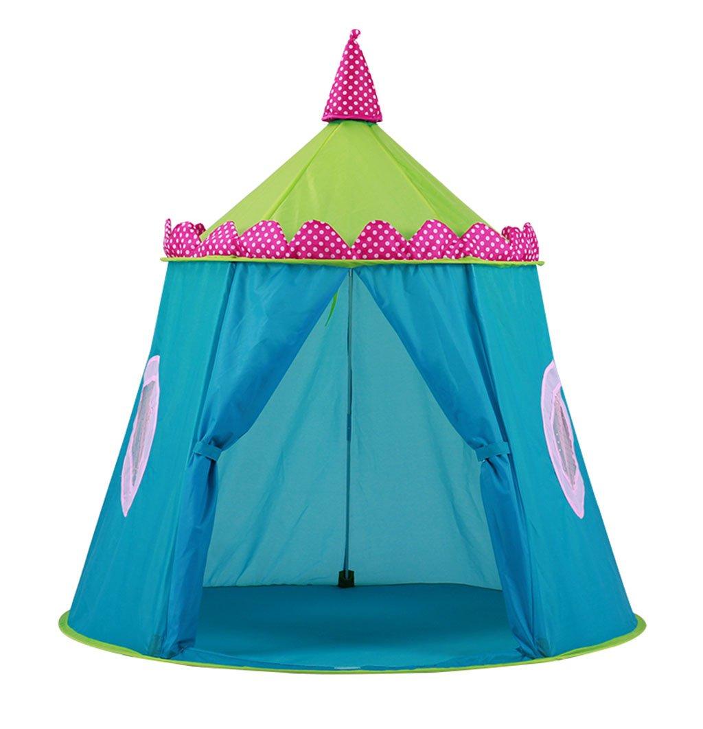 SZQ Schloss Zelt, Kind Indoor Baby Spielzeug Spiel Haus Tuch Kunst Outdoor Jungen Und Mädchen Geschenk Fotografie Requisiten 122  125 cm Vergnügen