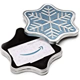 Amazon.com.au Gift Card for Custom Amount in a Snowflake Tin