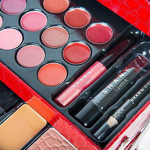 SHANY All In One Makeup Kit (Eyeshadow, Blushes, Powder, Lipstick & More) Holiday Exclusive 7
