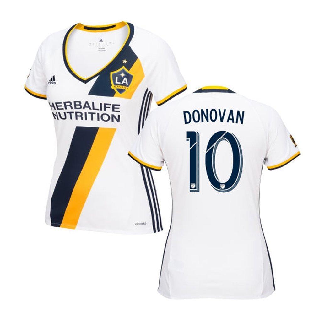 Adidas DONOVAN #10 LA Galaxy Home Women's Soccer Jersey 2016 (Authentic name & number) /サッカーユニフォーム ロサンゼルスギャラクシー ホーム用 ドノバン レディース向け B01CQ1B2XE   Medium