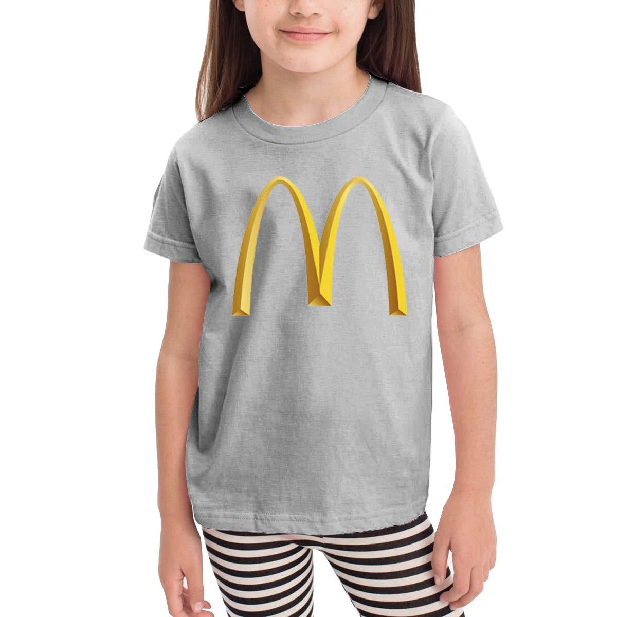 Kids Shirts Classic Logo Shirt Casual Short Sleeve Cotton Summer Clothes Sport T Shirt Tollder Boys Girls