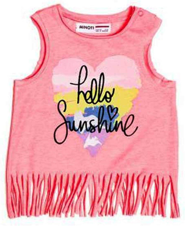 Minoti Hello Sunshine White Frill Vest