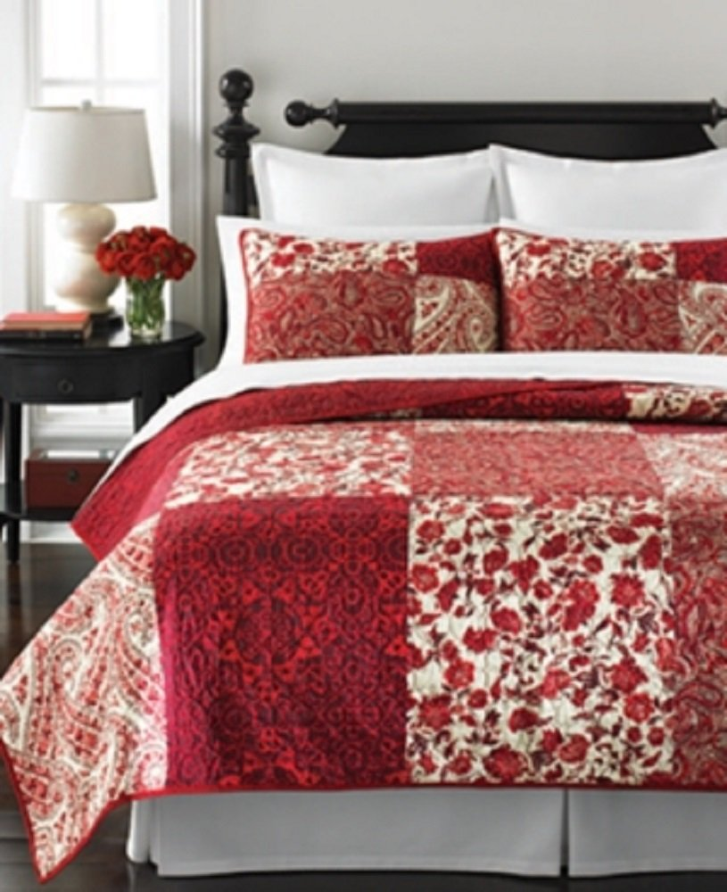 harbor right quilt springs minick dot paisley left william simpson from quilts sweet garden polka and to img