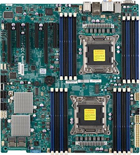 Supermicro Dual LGA2011/Intel C602/A&2GbE/EATX Server Motherboard X9DAE-O ()
