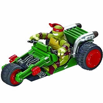Carrera - Mini Coche Triciclo GO 143 Tortugas Ninja Raphael, Escala 1:43 (20061286)