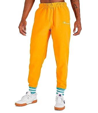 1dc15b46958 Champion Life Men s Reverse Weave Yarn Dye Rib Trim Jogger at Amazon Men s  Clothing store