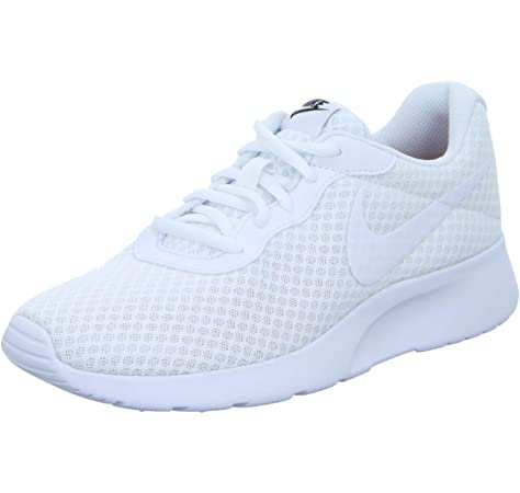 Nike Tanjun, Zapatillas de Running para Mujer, Blanco (White/White-Black), 39 EU: MainApps: Amazon.es: Zapatos y complementos