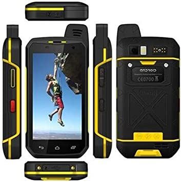 5000 mAh teléfono Robusto Dual SIM Card Libre GSP NFC SOS Teléfono Octa Core RAM 4 GB ROM HD 64 GB Impermeable Resistente 4 G LTE 4.7 Pulgadas Android 6.0 Smartphone para el Exterior: Amazon.es: Electrónica