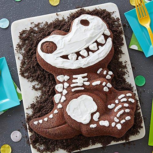 Amazon Wilton Dinosaur Cake Pan Kids 3D Birthday Novelty Pans Kitchen Dining