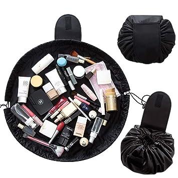 8f315ff84fc3 Portable Makeup Organizer Drawstring Cosmetic Bag Lazy Capacity Storage  Travel Waterproof Large...