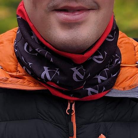VC Cyclisme Neck Warmer Écharpe 6 en 1 unisexe multifonctionnelle Seamless Snood écharpe